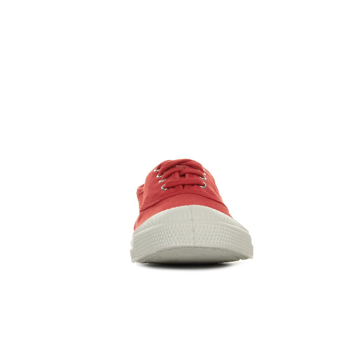 2172fa77c923d3 Bensimon Tennis Lacet Rouge F15004C15B310, Baskets mode femme