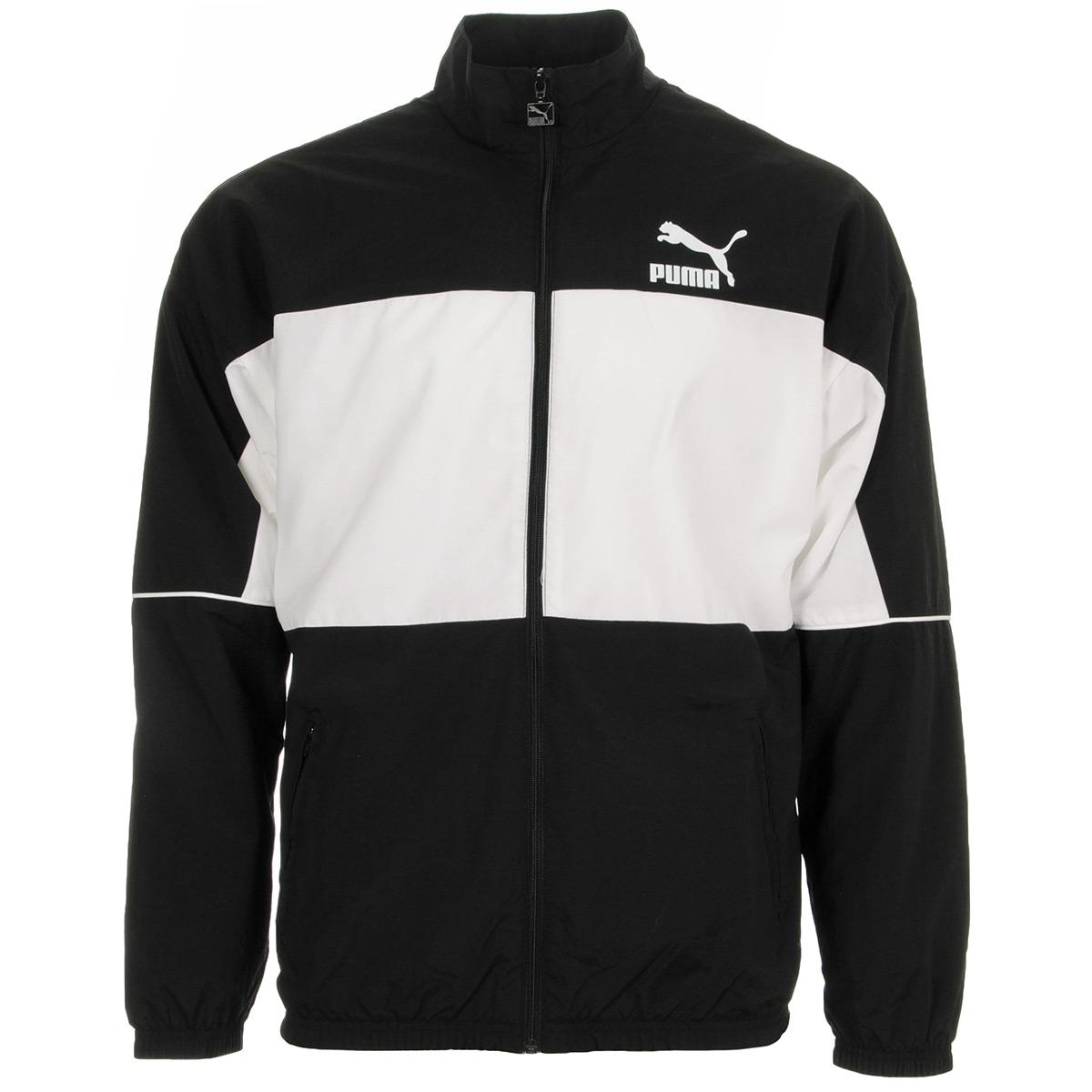 Puma Retro Woven Track Jacket 57637601, Sweats homme b0fec9f0547