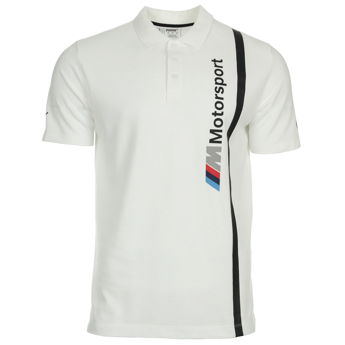 Vêtement Polos Puma homme BMW MMS Polo taille Blanc Coton  dbfc501ebfc