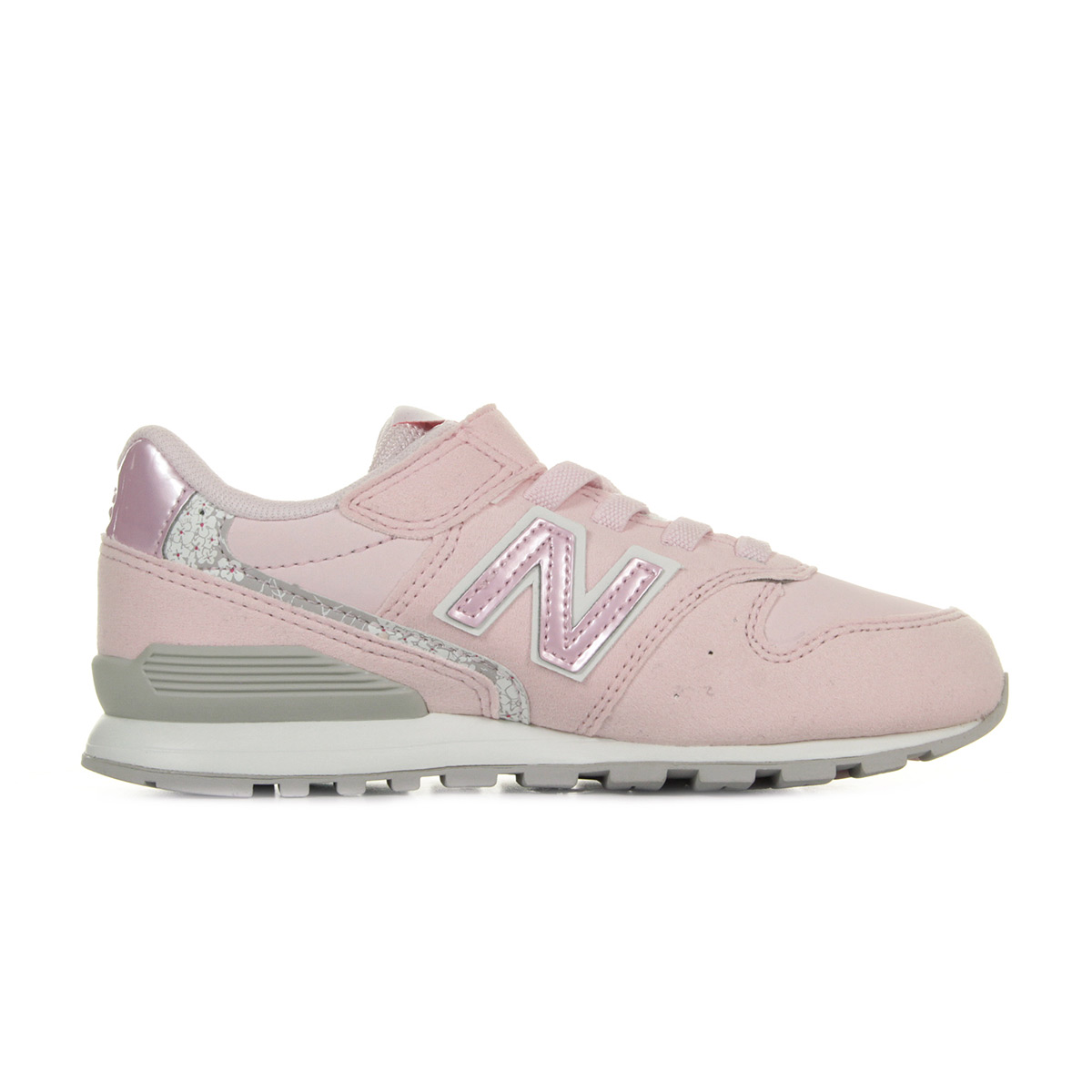 Chaussures Baskets New Balance fille KV996F1Y taille Rose Textile ... 30a80f20453b