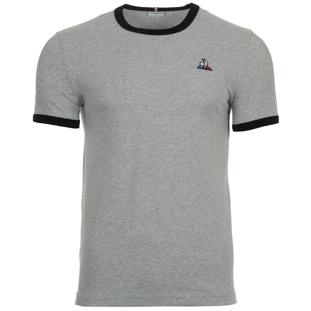 Vêtement T-Shirts Le Coq Sportif homme Ess Tee SS N°4 M taille Gris ... 59e35e441b4