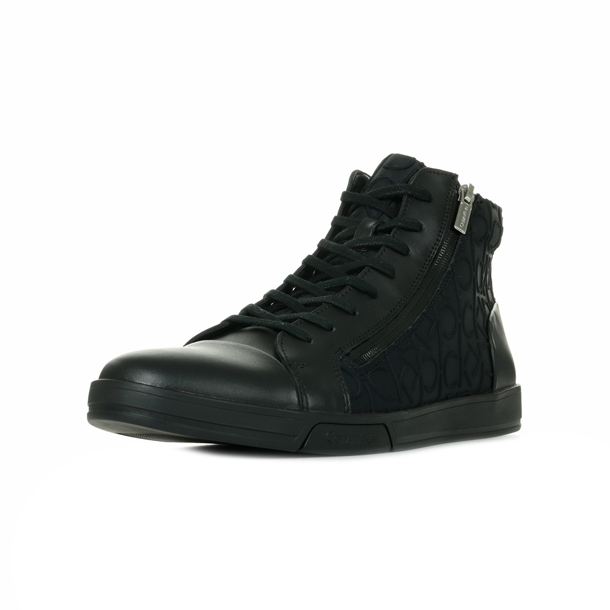 Sur Neop Baskets Chaussures Détails Berke Noir Leath Ck Klein Taille Calvin Embos Homme Brsh gdqppwTU