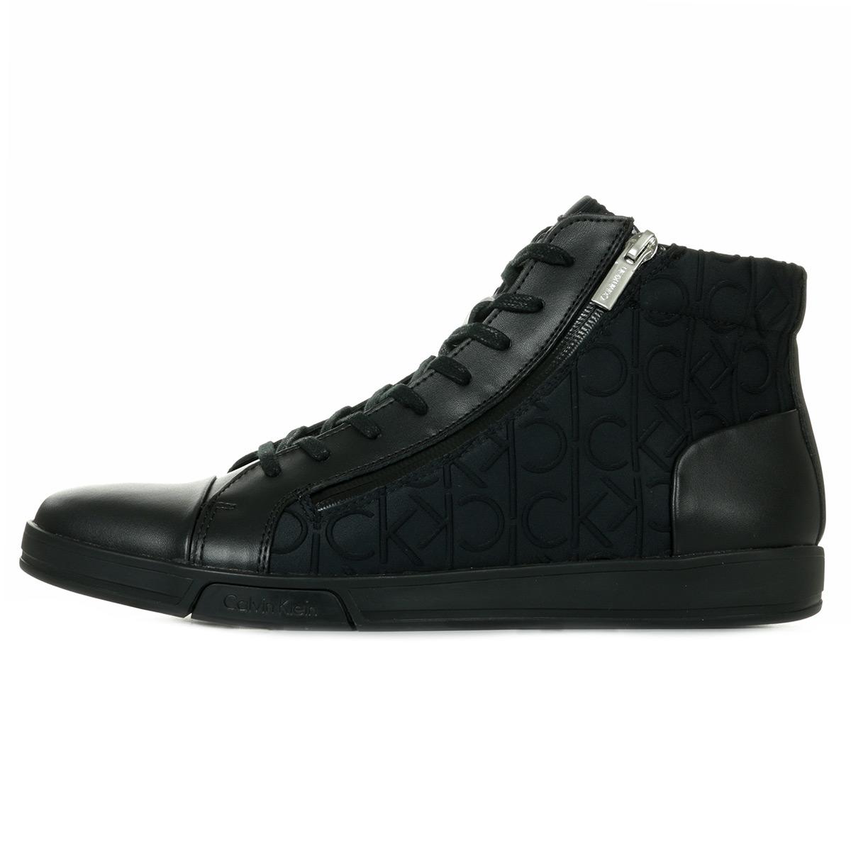 2b34b71688 Leath Klein Baskets Neop Berke homme Embos Brsh Chaussures Calvin Ck  xqFn6aqY