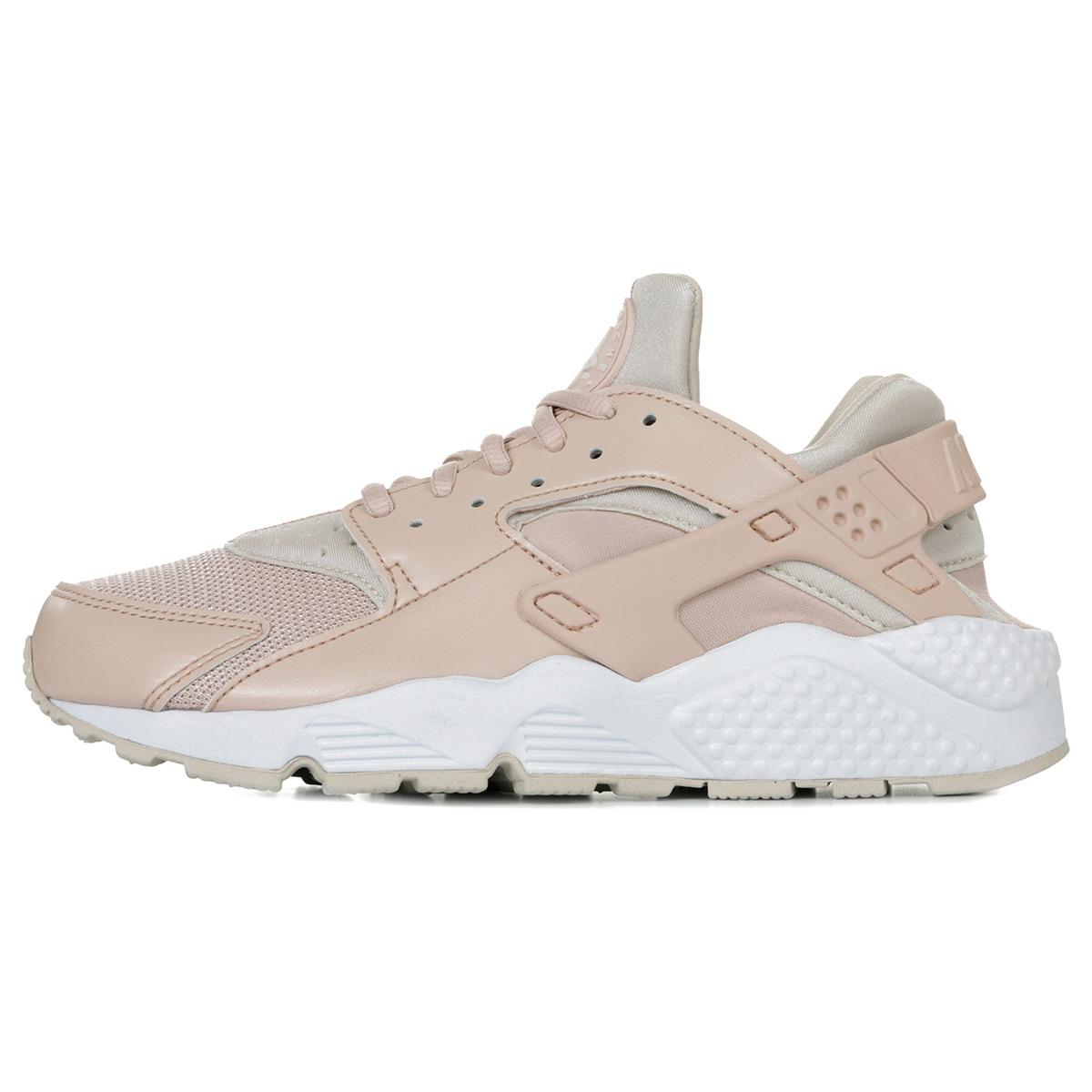 Chaussures-Baskets-Nike-femme-Wn-039-s-Air-Huarache-Run-034-Desert-Sand-034-taille-Beige miniature 2