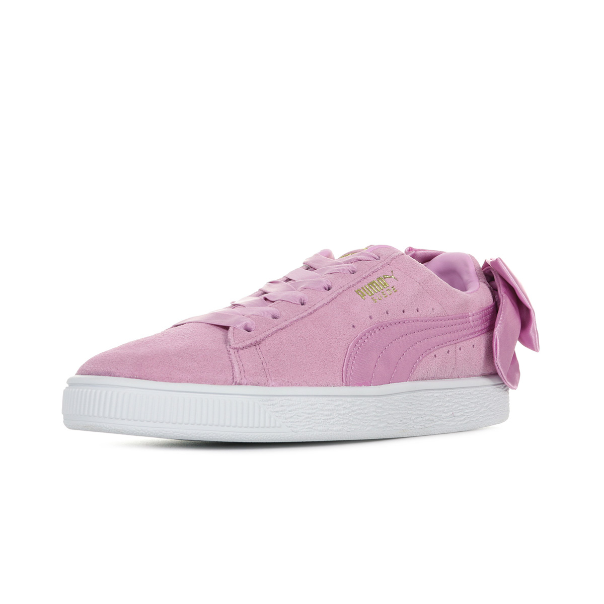 Puma Suede Bow Jr 36731605, Baskets mode fille