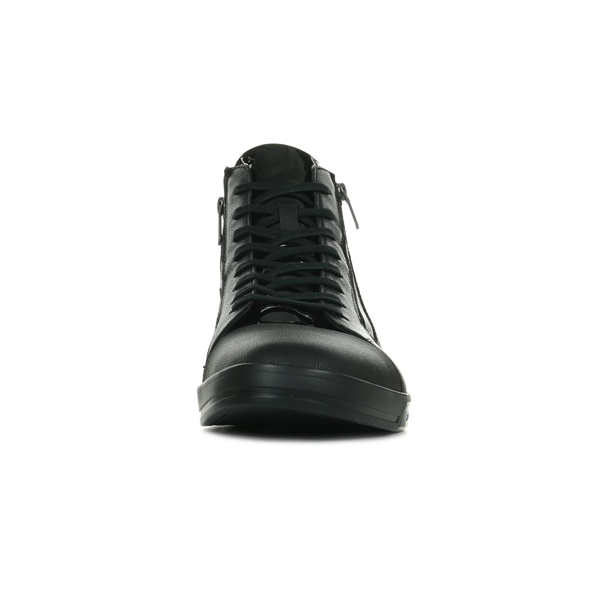Calvin Klein Mode F0753 Patent Smooth Homme BlackBaskets SLUzGMjpqV