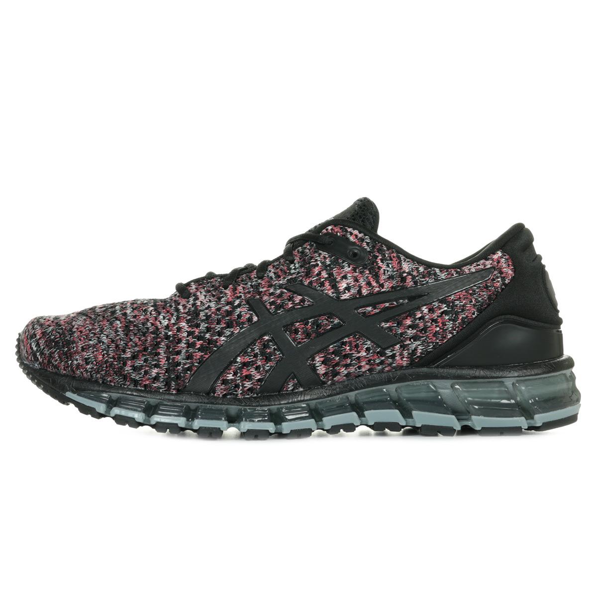 Détails sur Chaussures Asics unisexe Gel Quantum 360 Knit 2 Running taille Noir Noire