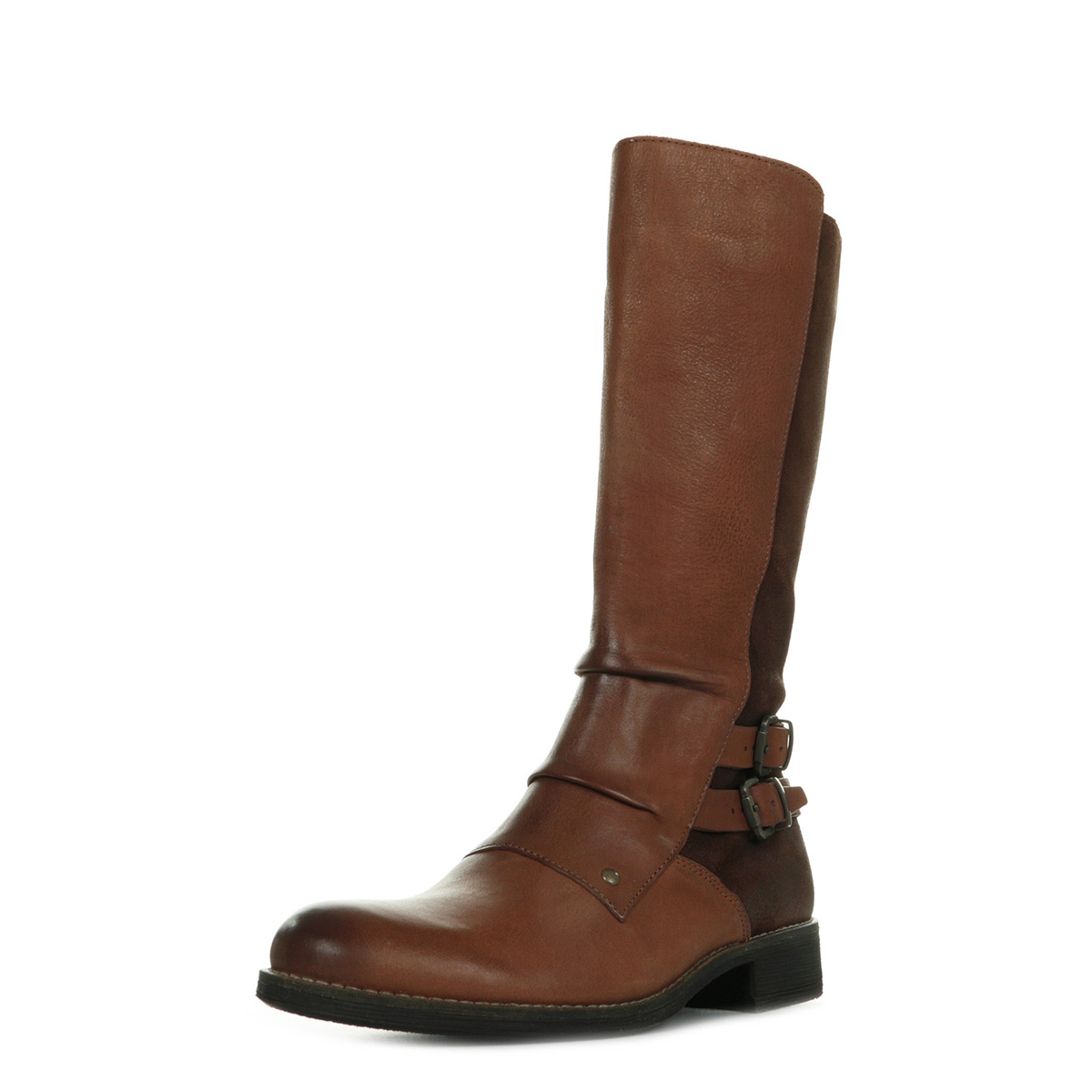 bb10bf0e268a1b Kickers Smacking Marron 5797305091, Bottes femme