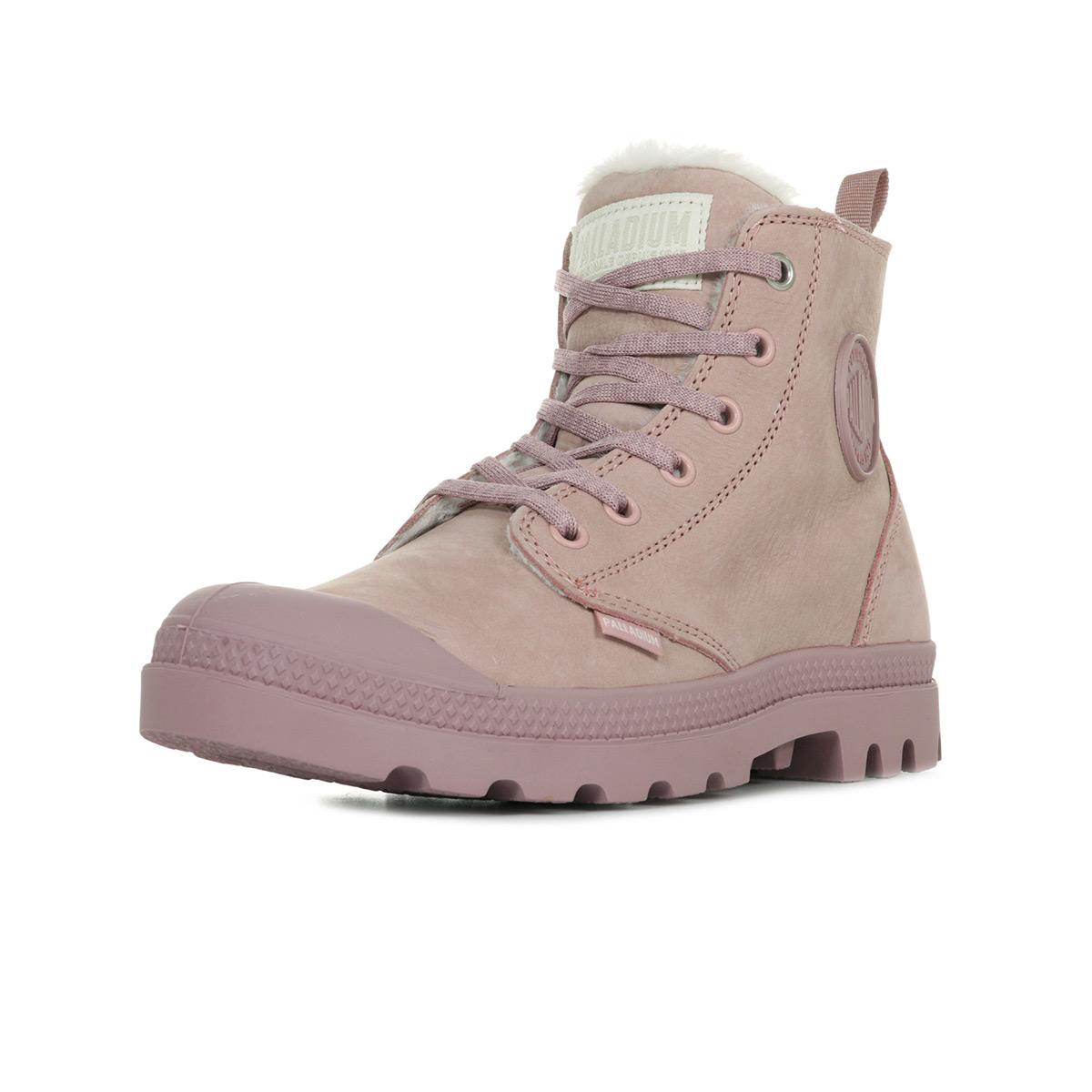 Wl Dust Boots Femme Fawn Pampa Palladium 75519p98 Rose Hi Zip q44wtg