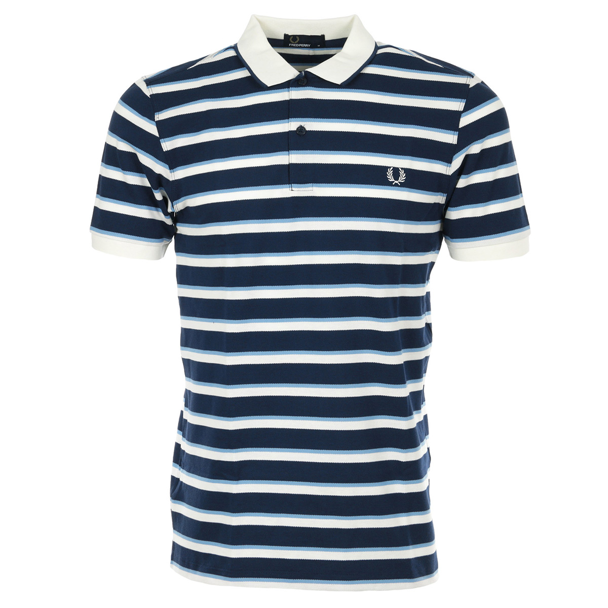 8f078e39d33 Fred Perry Fine Stripe Pique Shirt M5572266