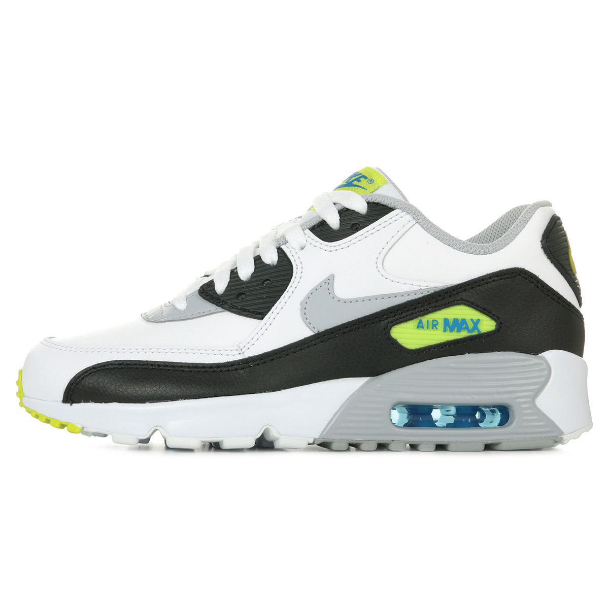 huge selection of 30f7f 1992a ... Nike Air Max 90 Leather (GS) ...