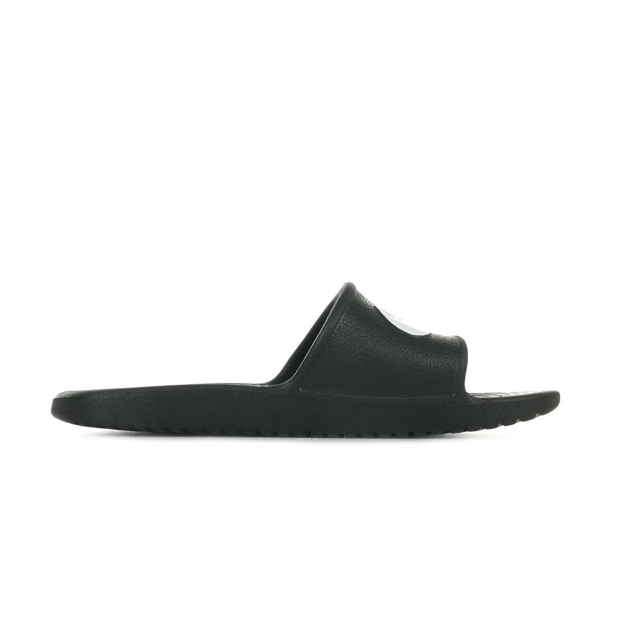 6255a038769c1 Sandales Nu Pieds Nike unisexe Kawa Shower taille Noir Noire ...