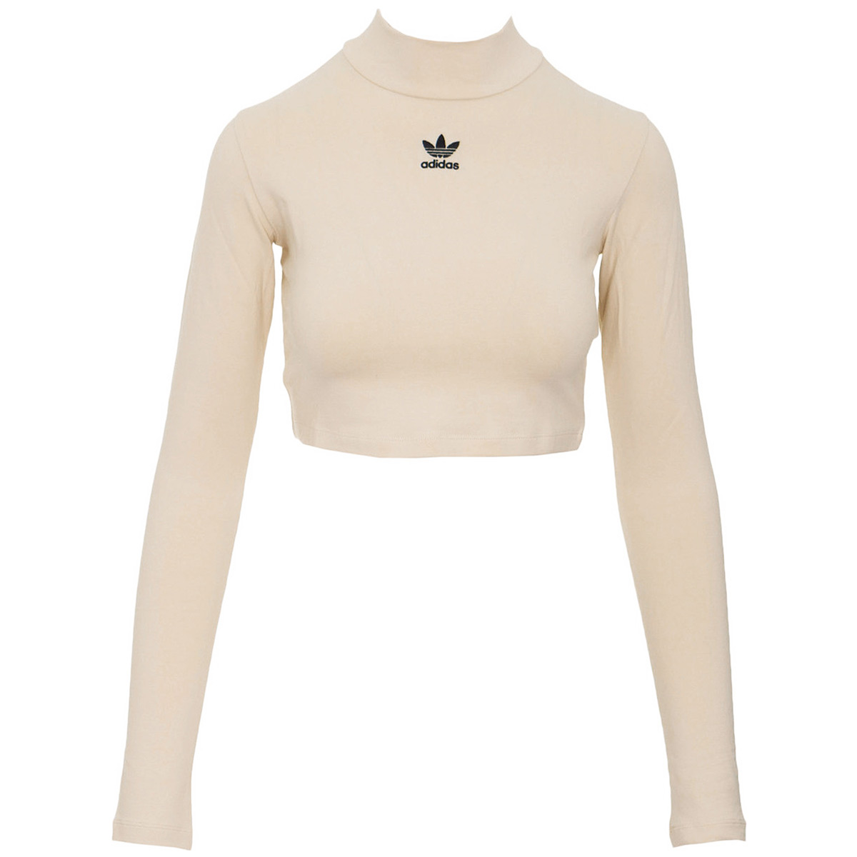 Details about Vêtement T-Shirts adidas femme SC Crop LS Top