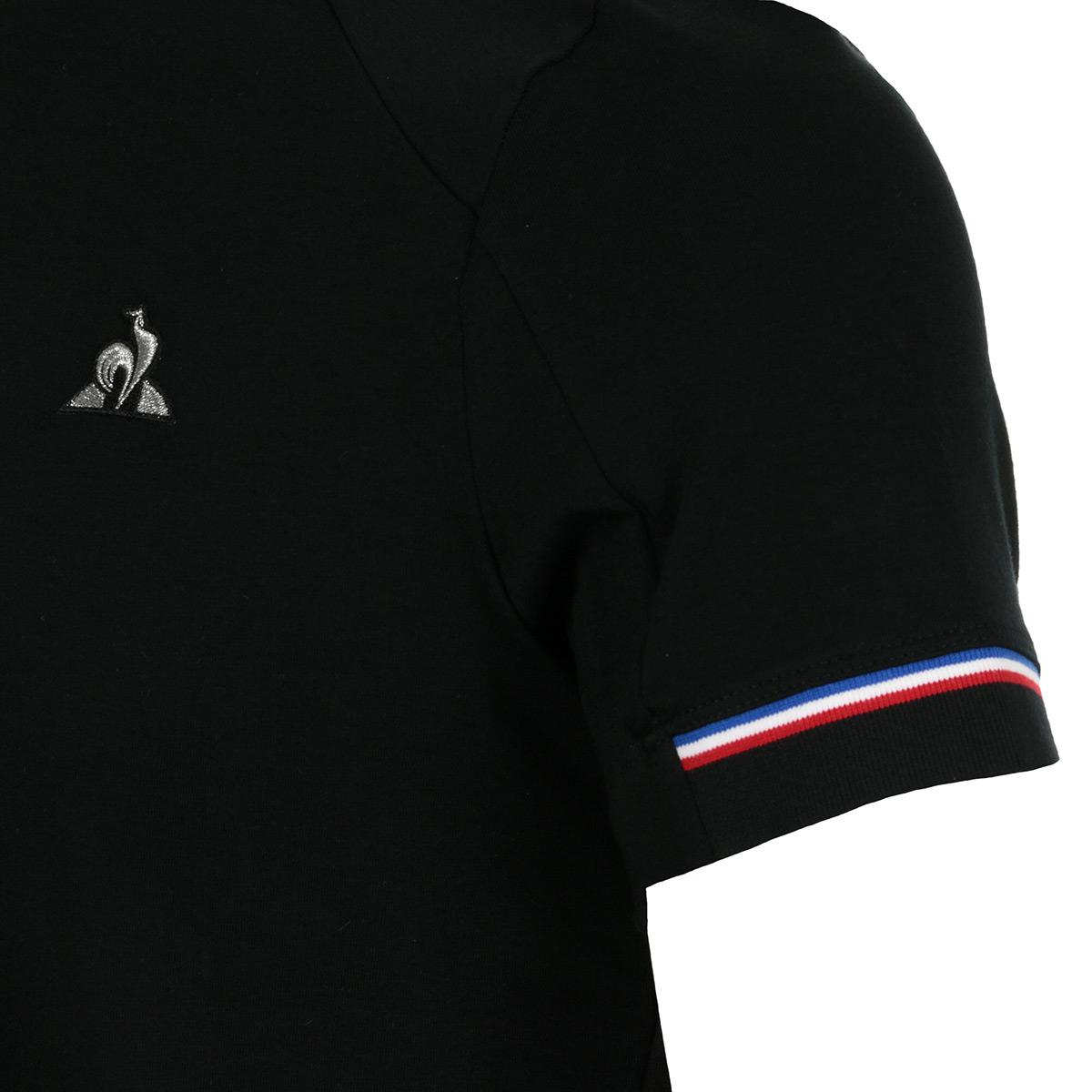 Vêtement T-Shirts Le Coq Sportif homme TECH Tee SS N taille Noir ... 502b3c0360d