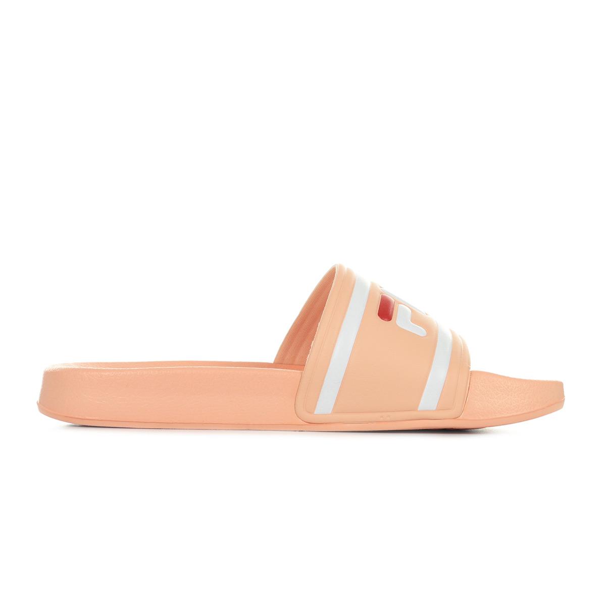 Détails sur Chaussures Claquettes Fila femme Morro Bay Slipper taille Saumon Caoutchouc A
