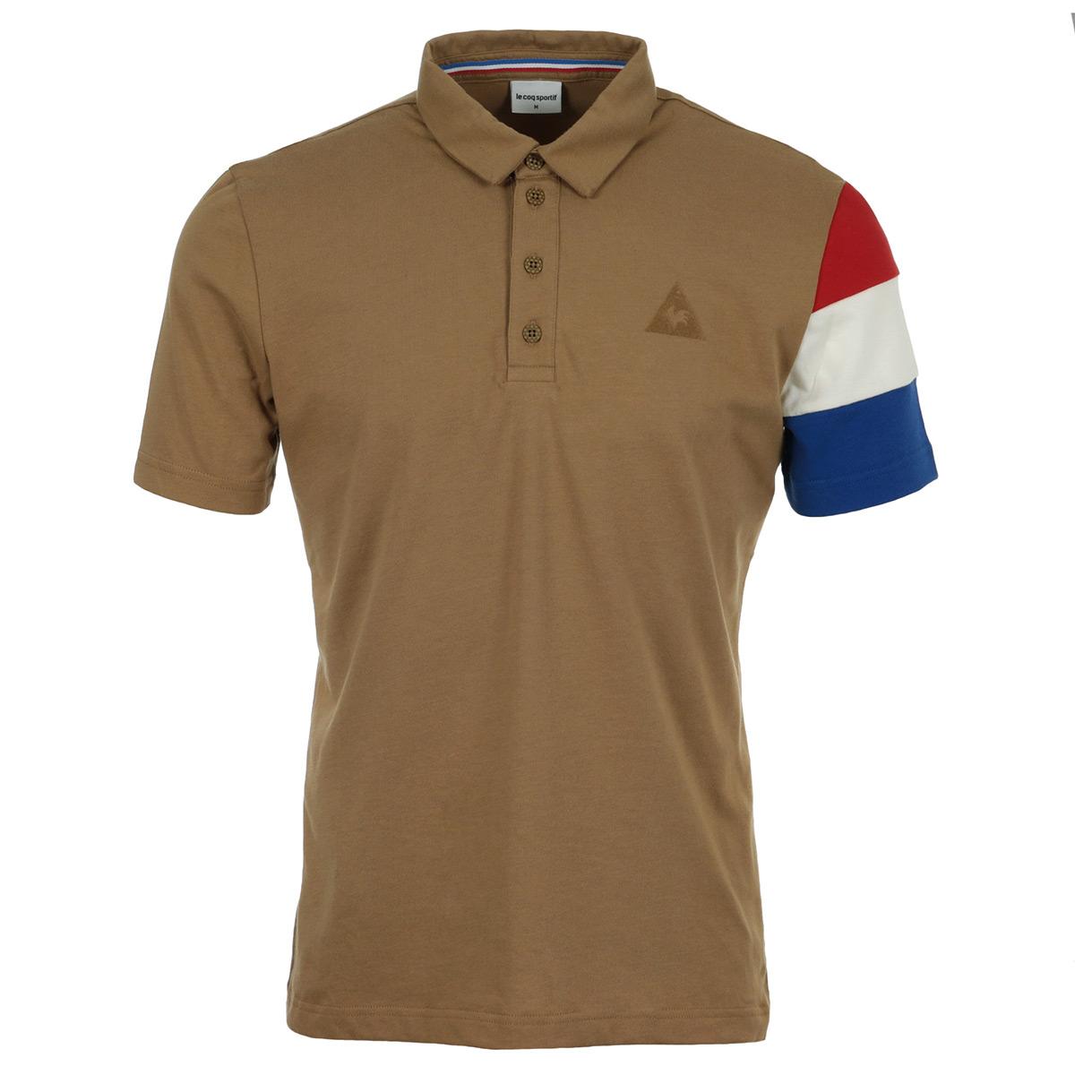 ebd906341870 Vêtement Polos Le Coq Sportif homme Tri BBR SP Cotontech Polo SS ...