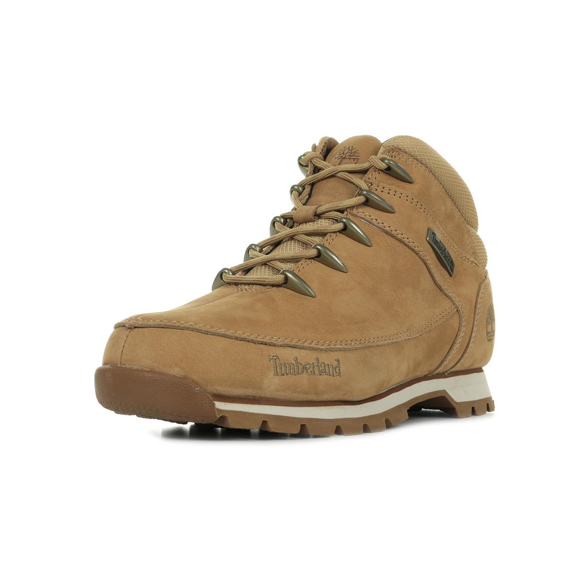 Mid Euro Hiker Beige Medium Ca1wheBoots Timberland Nubuck Sprint Homme BtsdrxhQCo