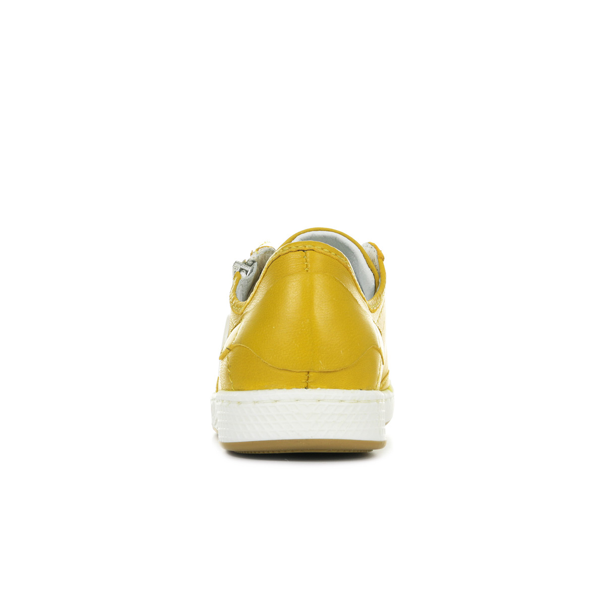 2a775277380 Chaussures Baskets PATAUGAS femme Jester F2E Ocre taille Jaune Cuir ...