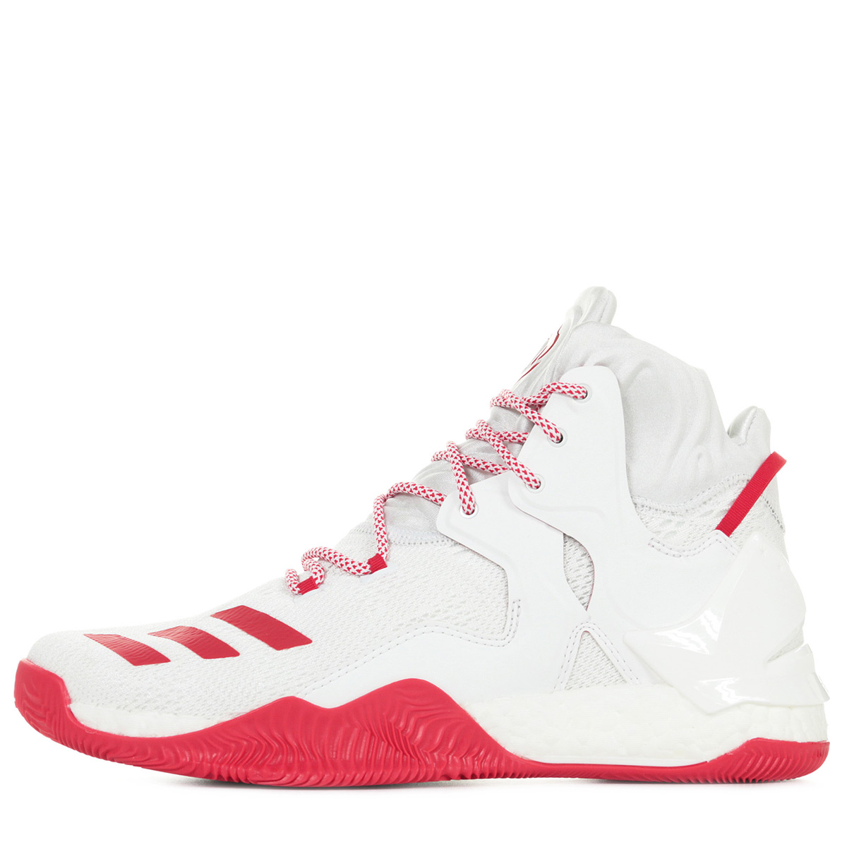 Détails sur Chaussures adidas Performance homme D Rose 7 Basketball taille Blanc Blanche