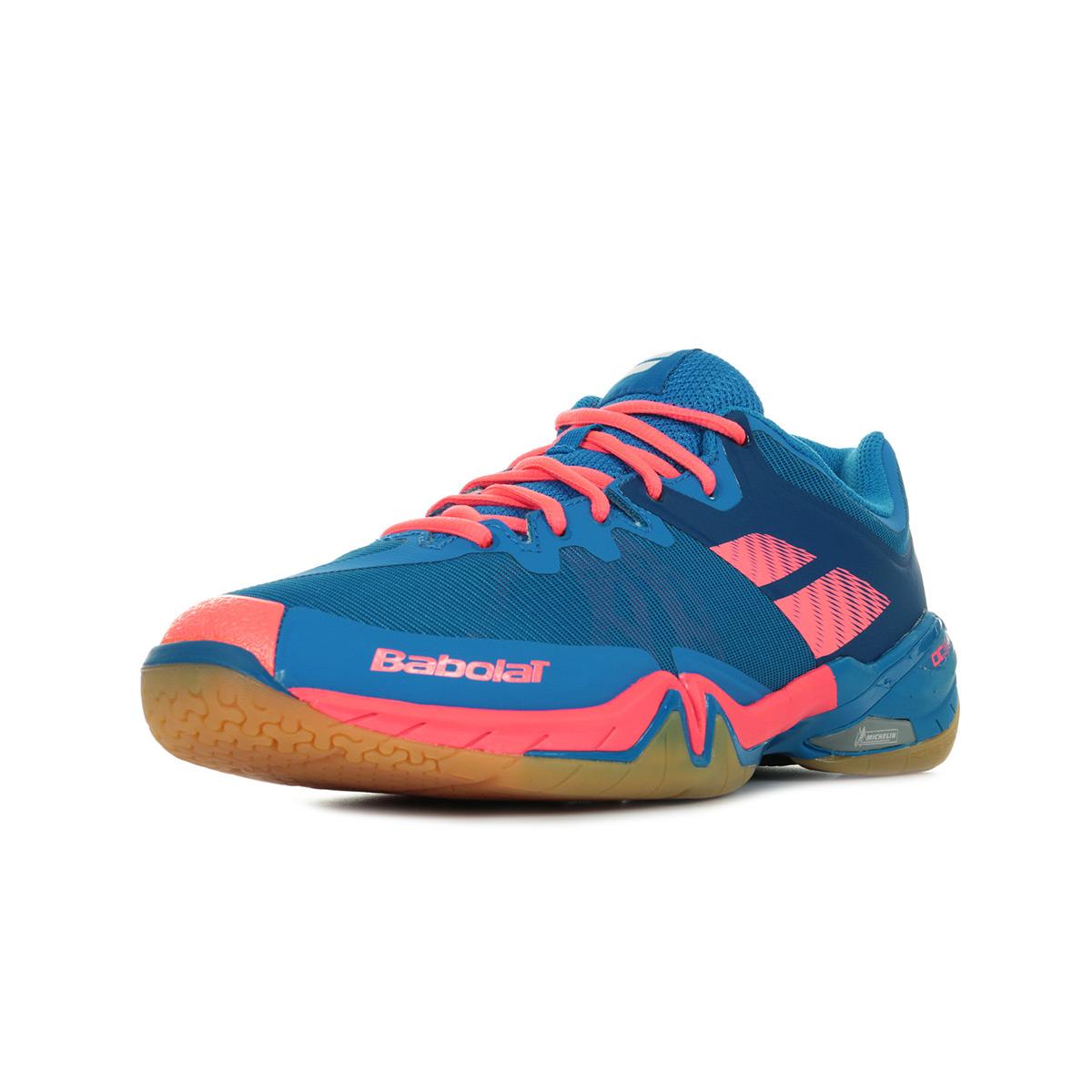 Taille Détails Tour Sur Homme Men Badminton Bleu Bleue Babolat Chaussures Shadow CBdrxtshQo