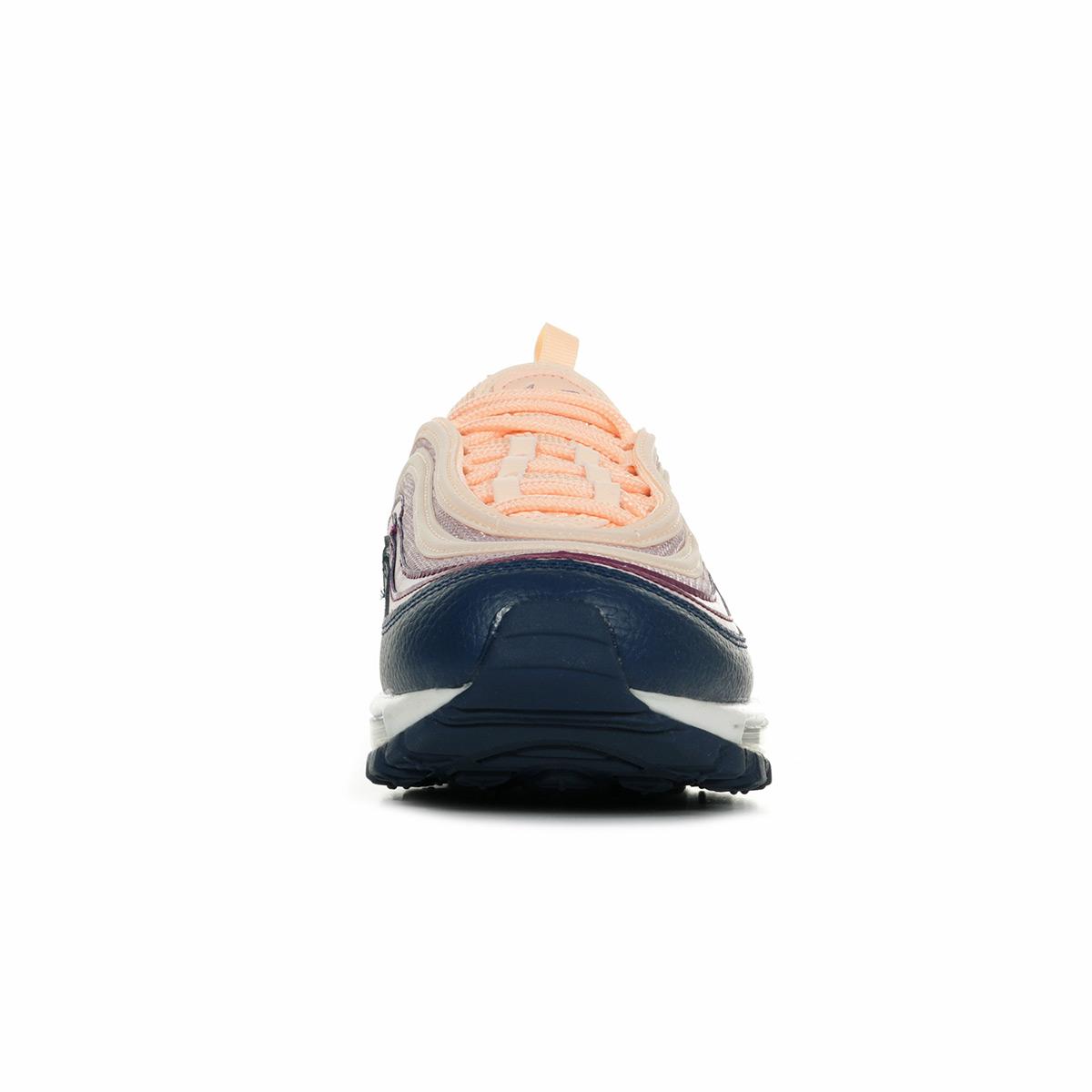 Chaussures Baskets Nike femme Wn's Air Max 97 Crimson Tint
