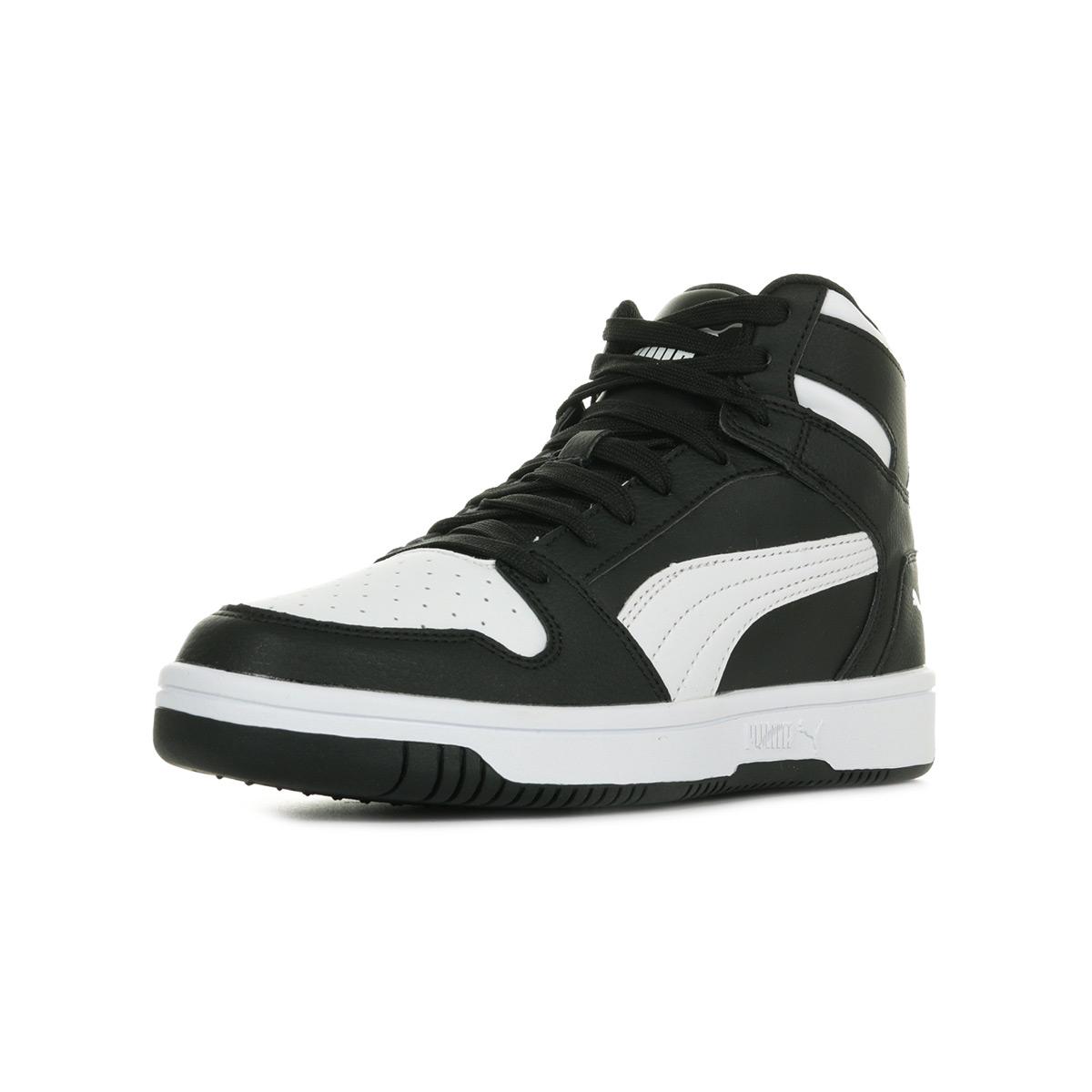 Puma Rebound Layup SL Jr 37048601, Baskets mode garçon