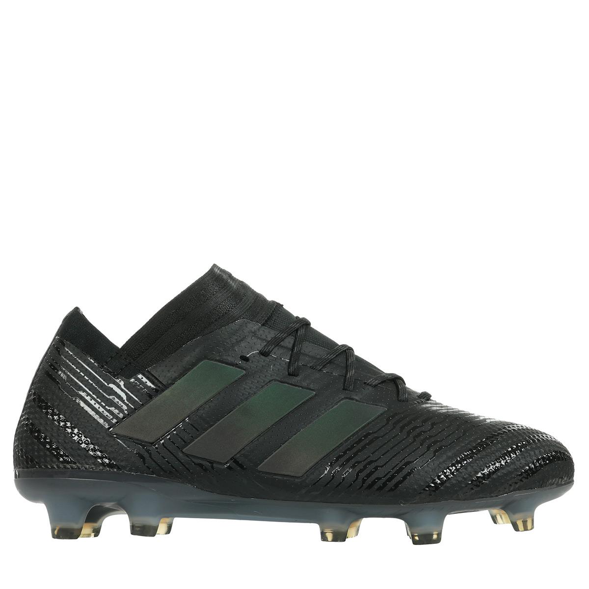 Détails sur Chaussures adidas Performance homme Nemeziz 171 FG Football taille Noir Noire