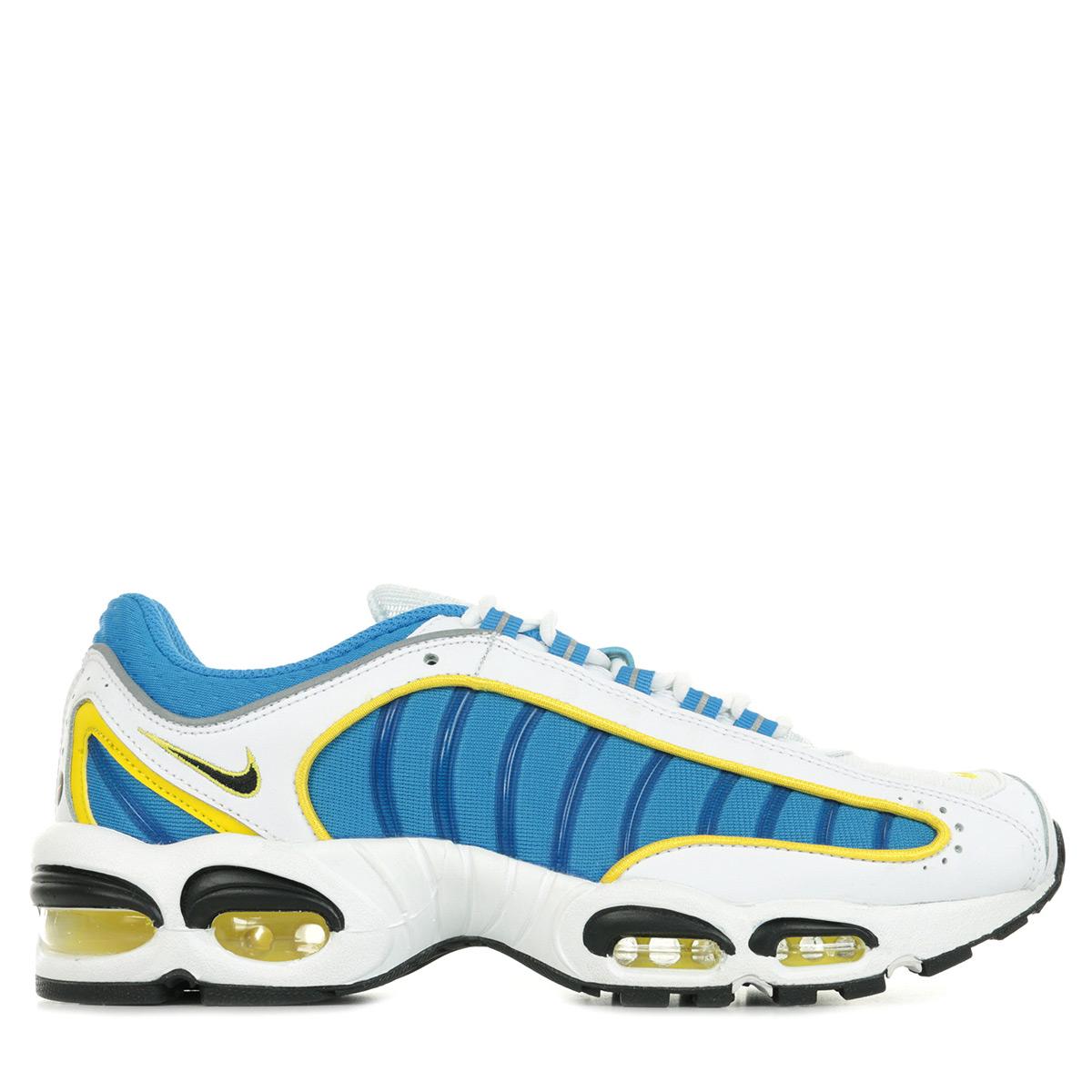 Détails sur Chaussures Baskets Nike homme Air Max Tailwind IV taille Blanc Blanche Cuir