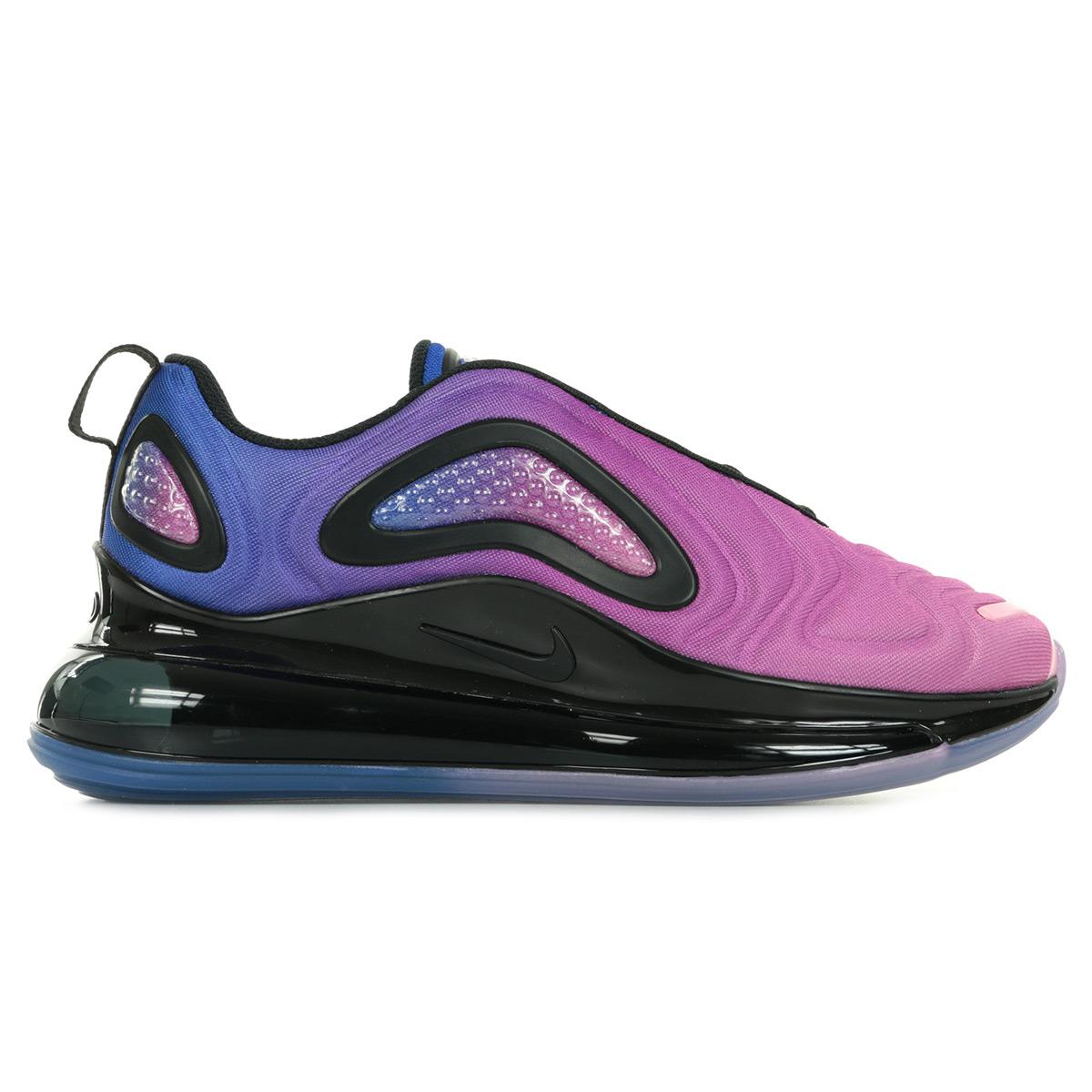Détails sur Chaussures Baskets Nike femme Air Max 720 SE taille Violet Violette Textile