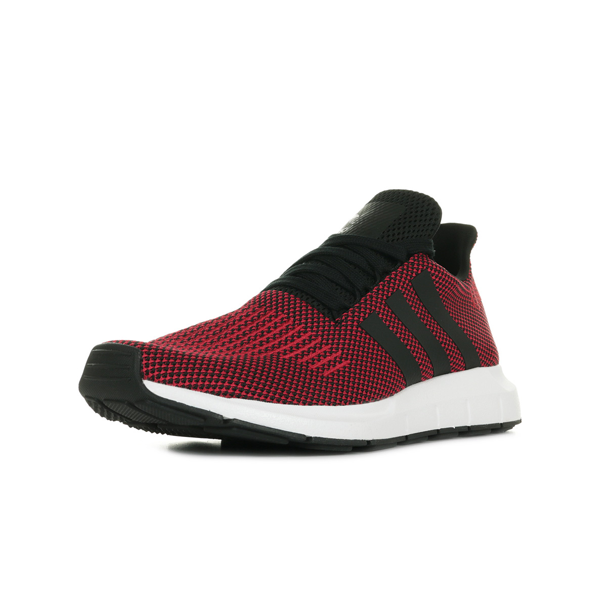 Détails sur Chaussures Baskets adidas homme Swift Run taille Rouge Textile Lacets