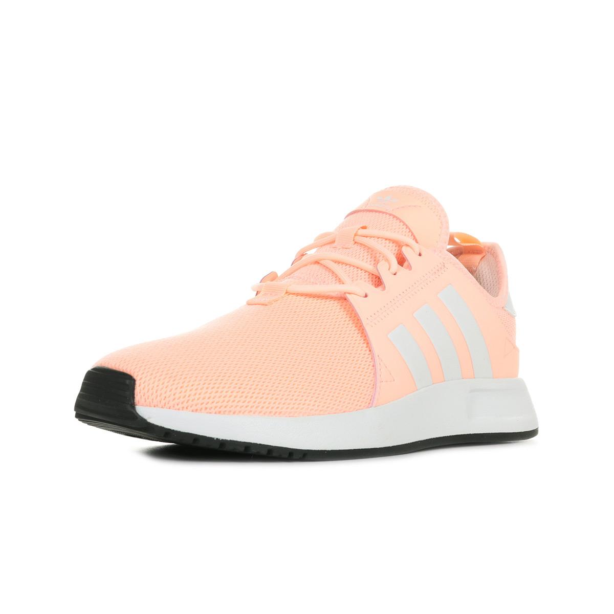 Détails sur Chaussures Baskets adidas fille X PLR J taille Rose Textile Lacets