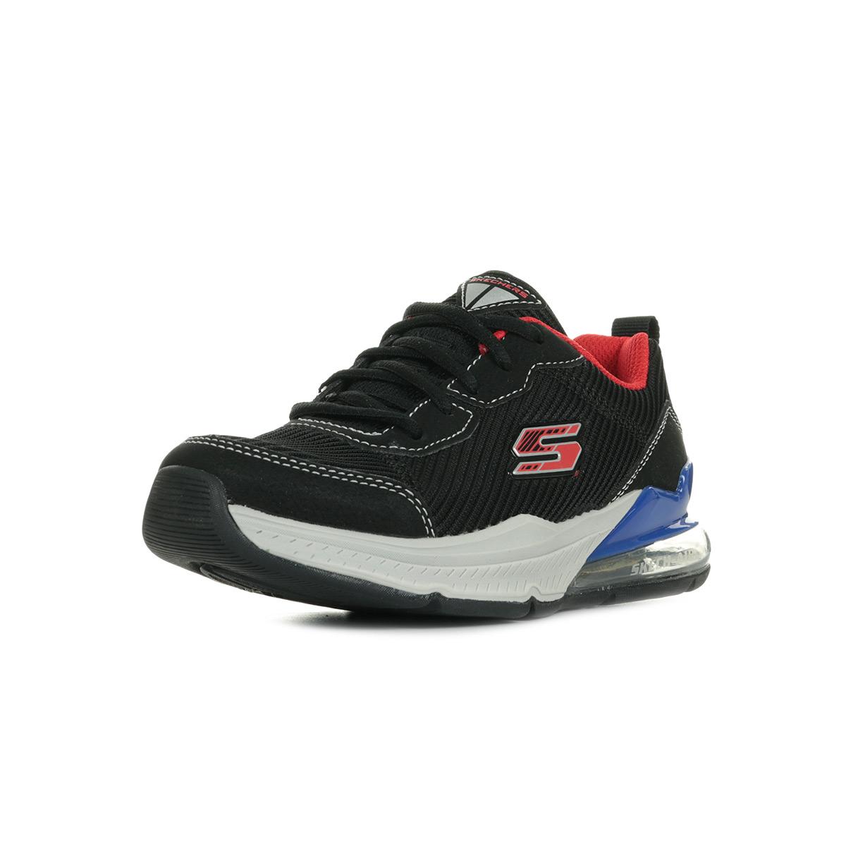 Skechers Zoorox 97744LBKRB, Baskets mode garçon