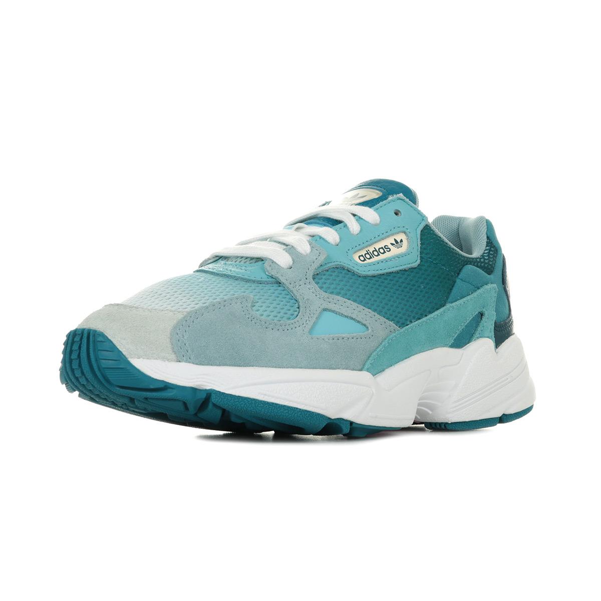 adidas falcon bleu turquoise