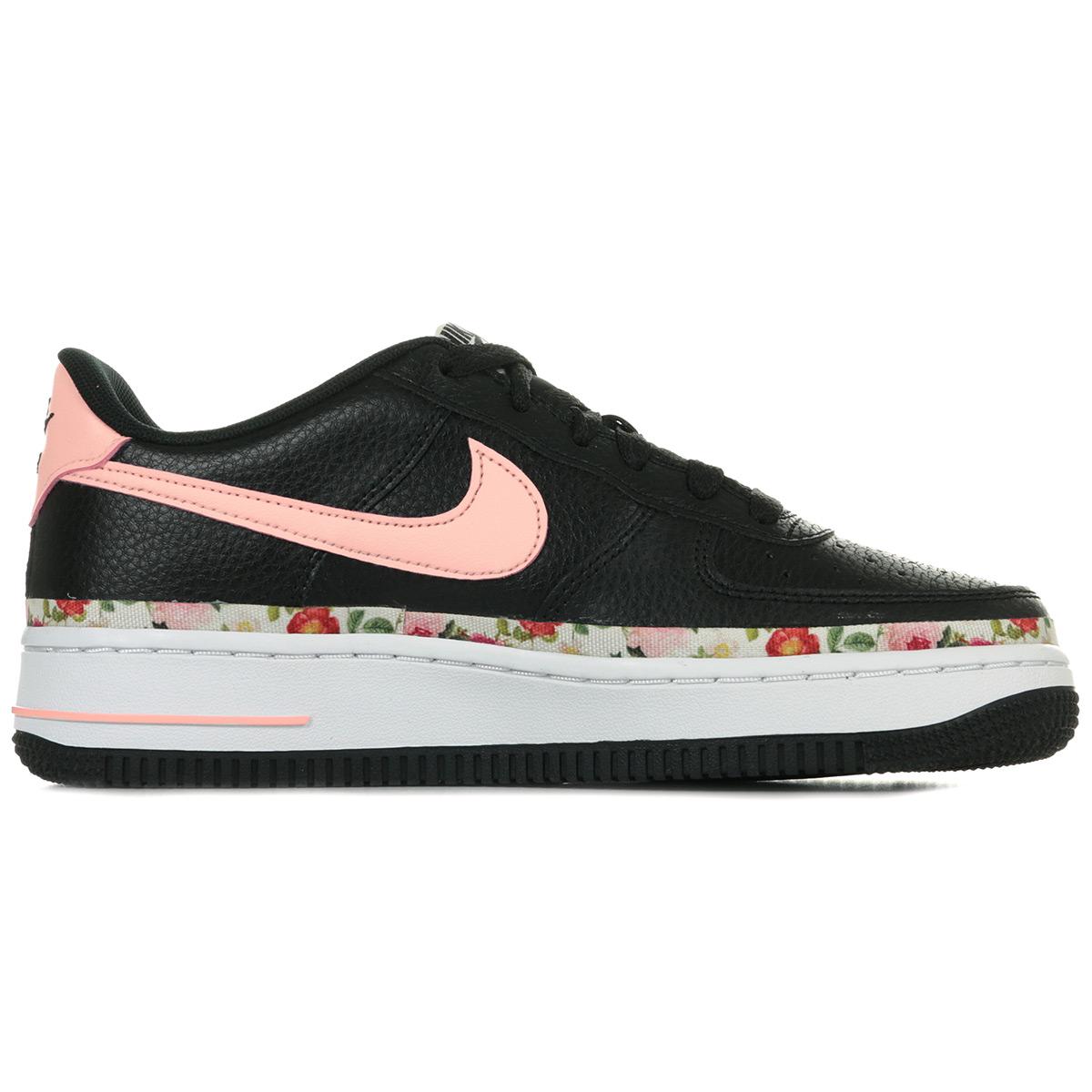 Floral Nike mode Vintage Air 1 Force BQ2501001Baskets femme