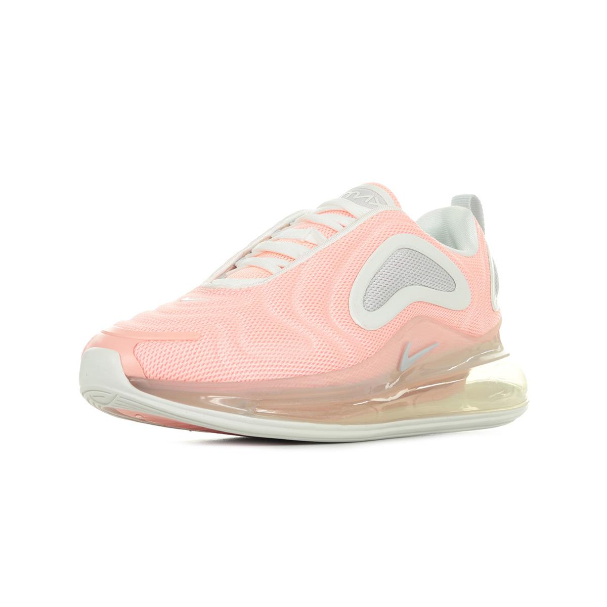 Détails sur Chaussures Baskets Nike femme Air Max 720 Wn's taille Rose Textile Lacets