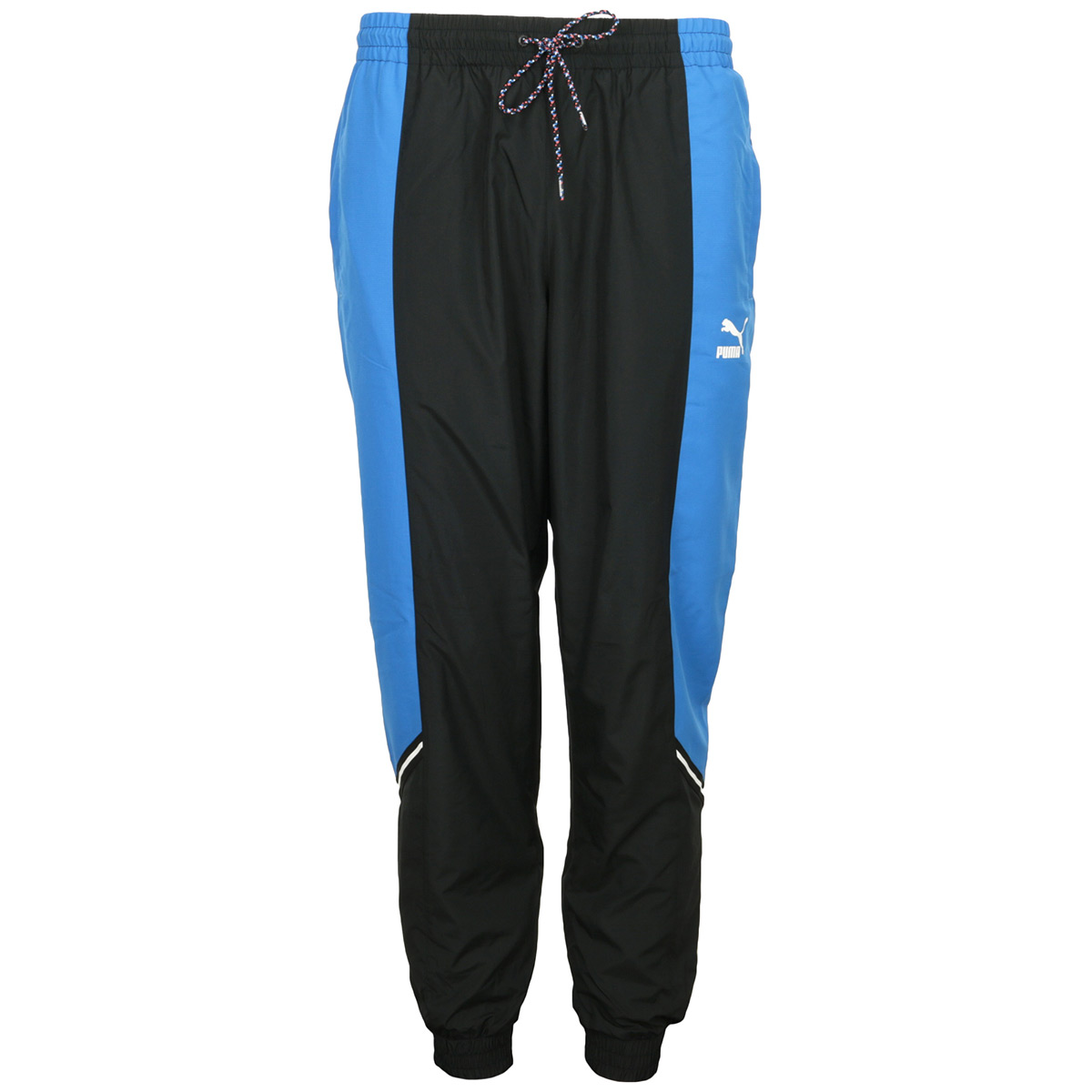 Détails sur Vêtement Pantalons sport Puma homme TFS Woven Pants taille Bleu Polyester