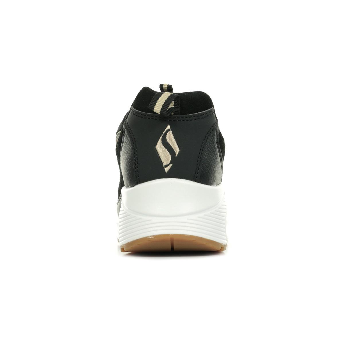 Skechers Uno Wild Streets 73674BKLD, Baskets mode femme