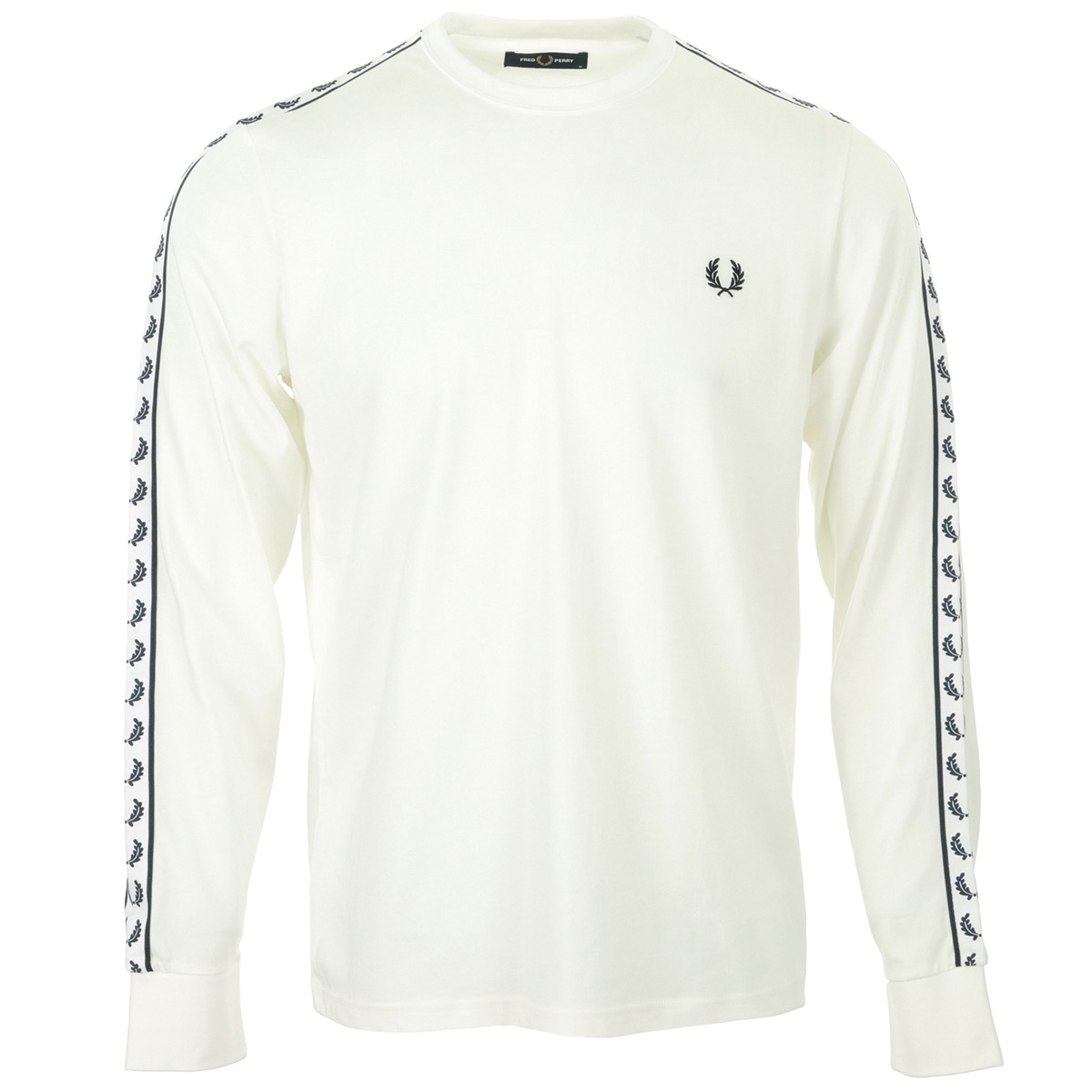 Fred Perry Taped Long Sleeve T-Shirt
