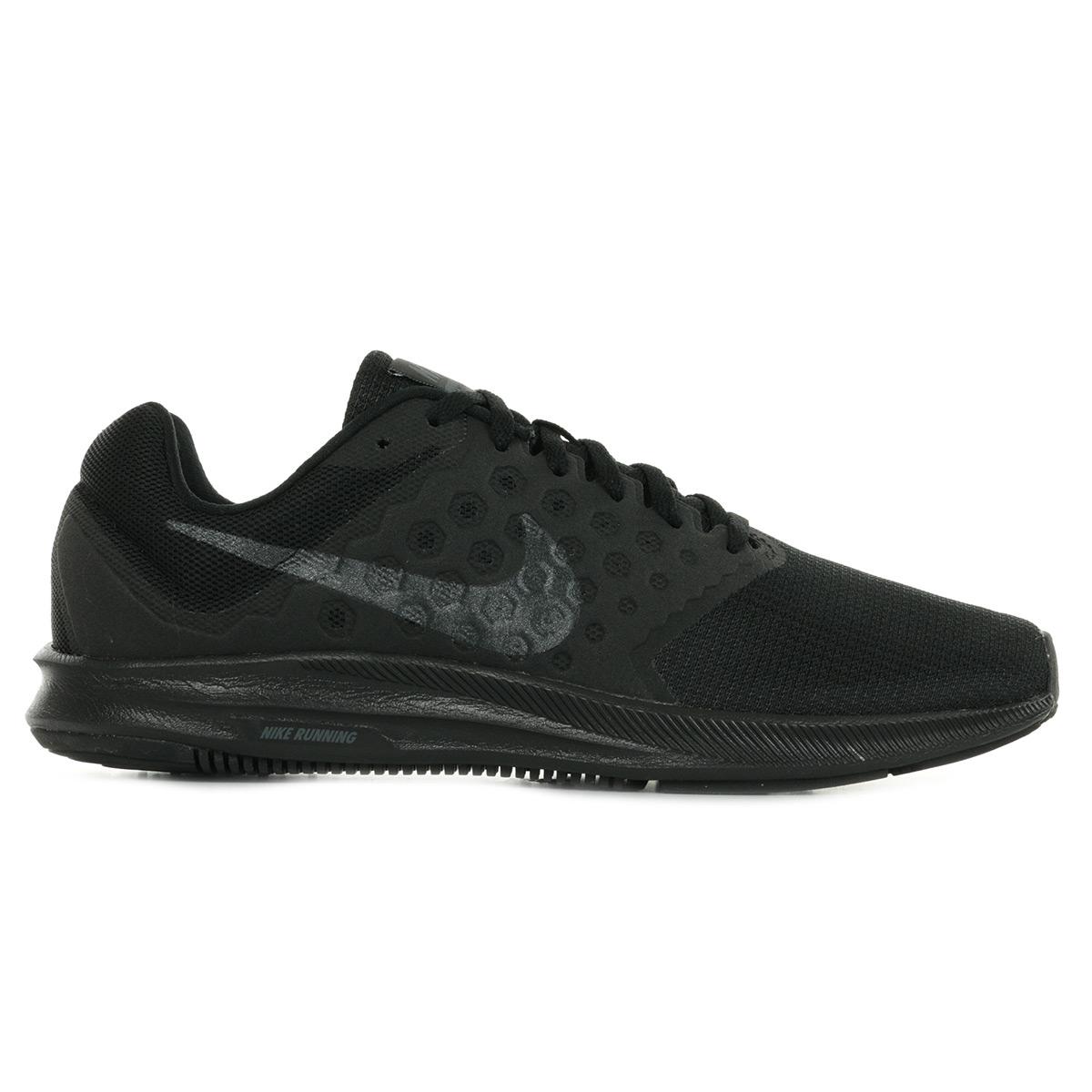 Détails sur Chaussures Baskets Nike homme Downshifter 7 taille Noir Noire Synthétique