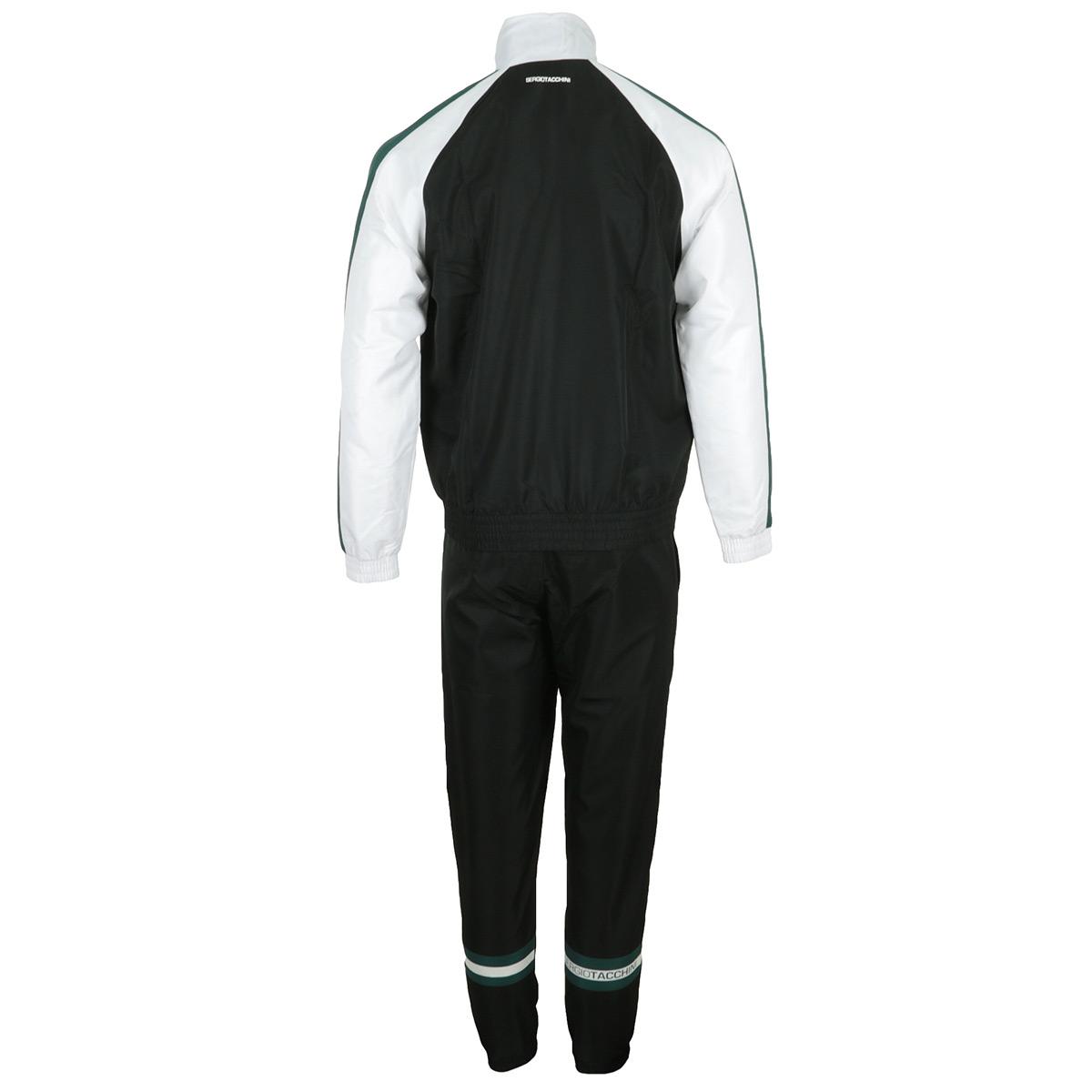 Kleidung Sergio Tacchini Herren Fide Tracksuit schwarz