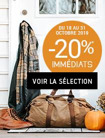 Spécial Halloween -20% sur tous les articles signalés*