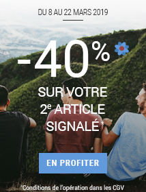 Spring is back Votre 2e article à -40%