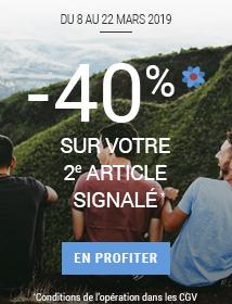 Spring is back Votre 2e article à -40%