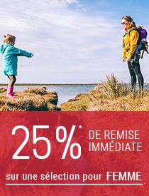 Offre Fête des mères -20% sur une sélection Femme et accessoires