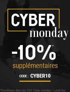 Cyber Monday -10% supp. sur une sélection d'articles*
